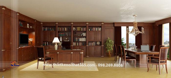 Thiết kế nội thất văn phòng chủ tịch HĐQT – VID Group