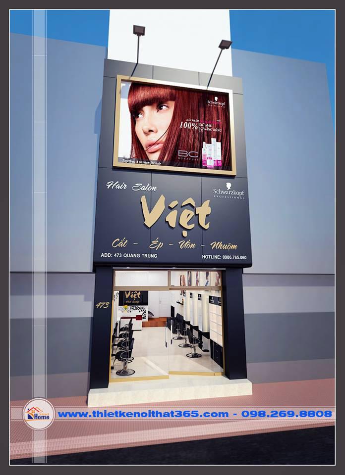 Thiết kế nội thất Hair Salon Việt