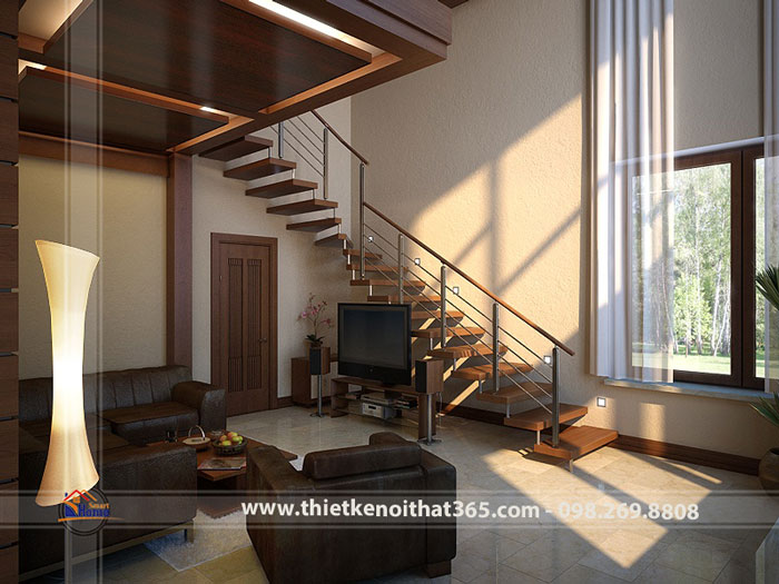Thiết kế nội thất biệt thự nhà chị Mai – Linh Đàm.