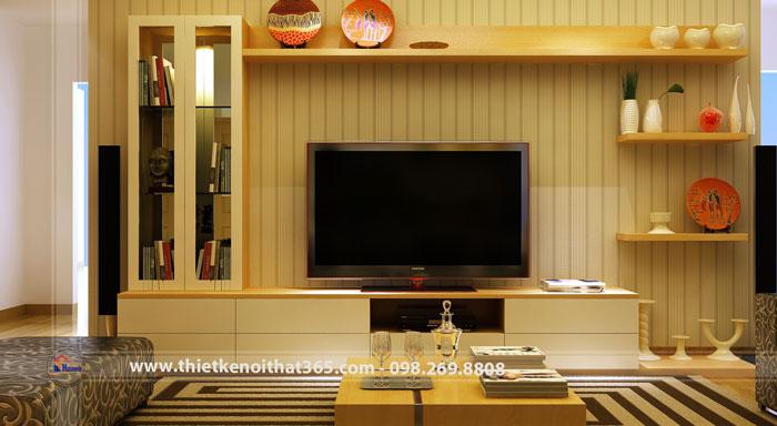 Thiết kế nội thất chung cư nhà anh Việt