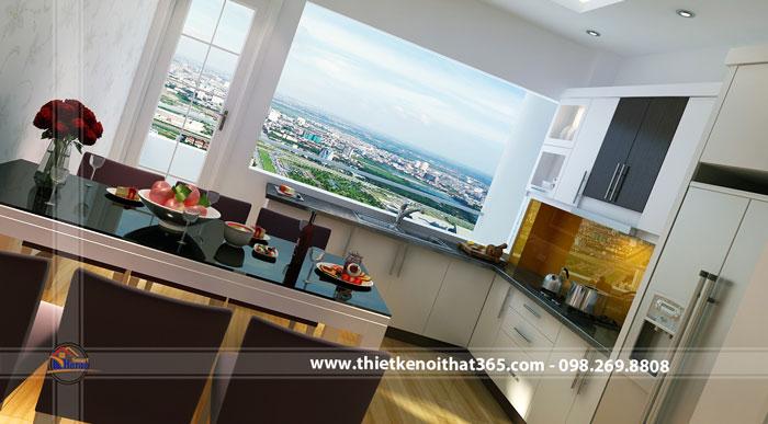 Thiết kế và thi công nội thất chung cư nhà anh Phúc, Việt Hưng, Gia Lâm