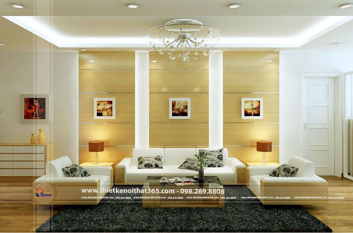 Thiết kế nội thất chung cư nhà chú Liêm