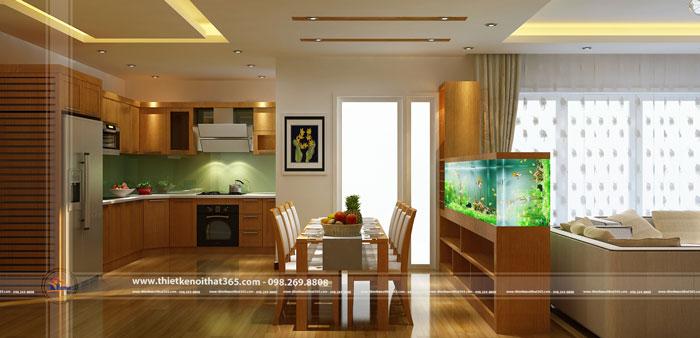 Thiết kế và thi công nội thất nhà anh Năng