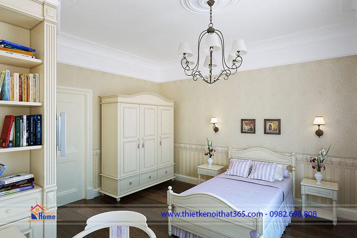 Mẫu phòng ngủ cổ điển – Ms 02