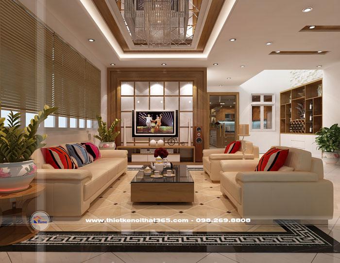 Thiết kế nội thất nhà chị Ngọc Anh