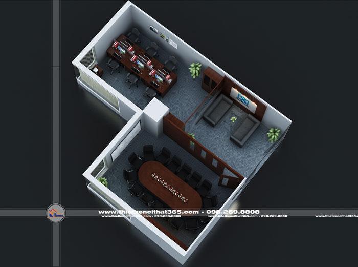 Thiết kế nội thất văn phòng đại diện MEIWA CORPORATINO