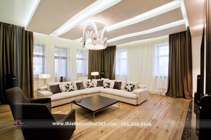 Thiết kế nội thất biệt thự vip – Bán đảo Sơn Trà – Đà Nẵng