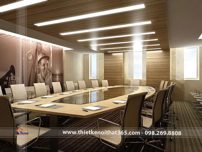 Thiết kế nội thất văn phòng – Tập đoàn Chevron Corporation