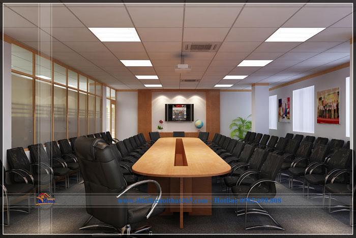 Thiết kế và thi công nội thất văn phòng ECPAY.