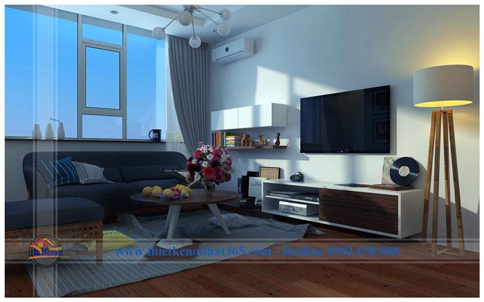 Thiết kế và thi công nội thất chung cư – anh Quang