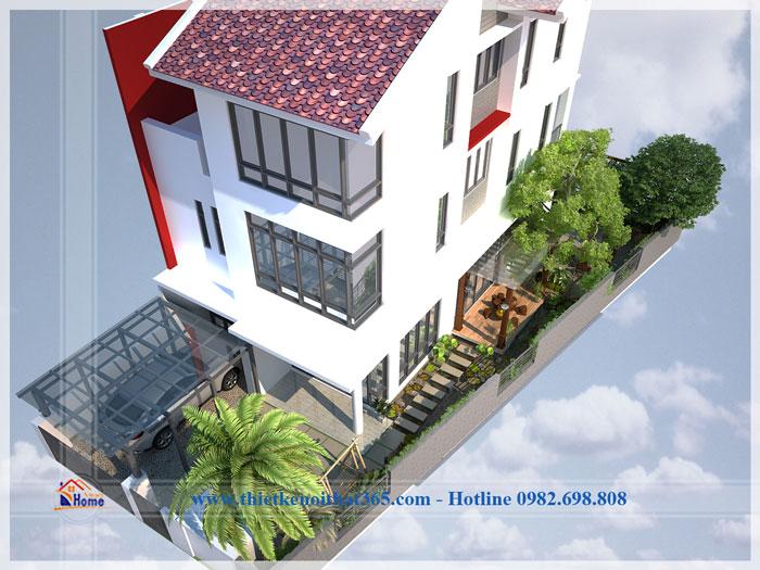 Thiết kế nội thất biệt thự nhà anh Dương – khu đô thị Gamuda City