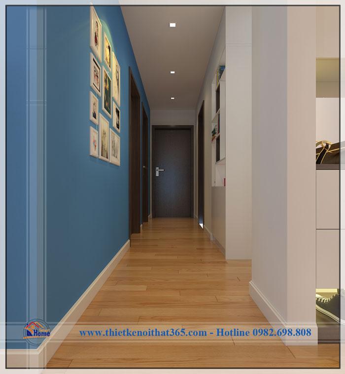 Thiết kế và thi công nội thất chung cư – Chị Hà – Dương Nội.