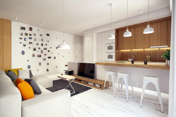 Mẫu nội thất chung cư sáng tạo cho mùa hè