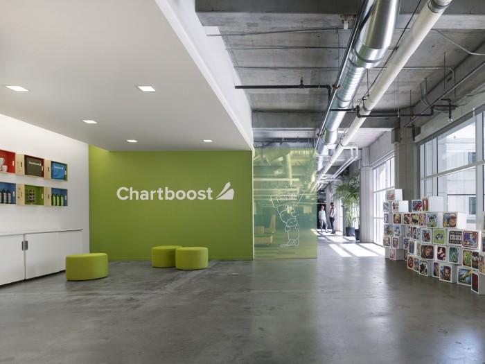 Nội thất văn phòng mới của công ty công nghệ di động Chartboost
