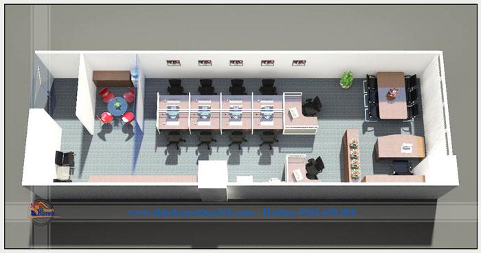 Thiết kế và thi công nội thất Văn phòng MJ