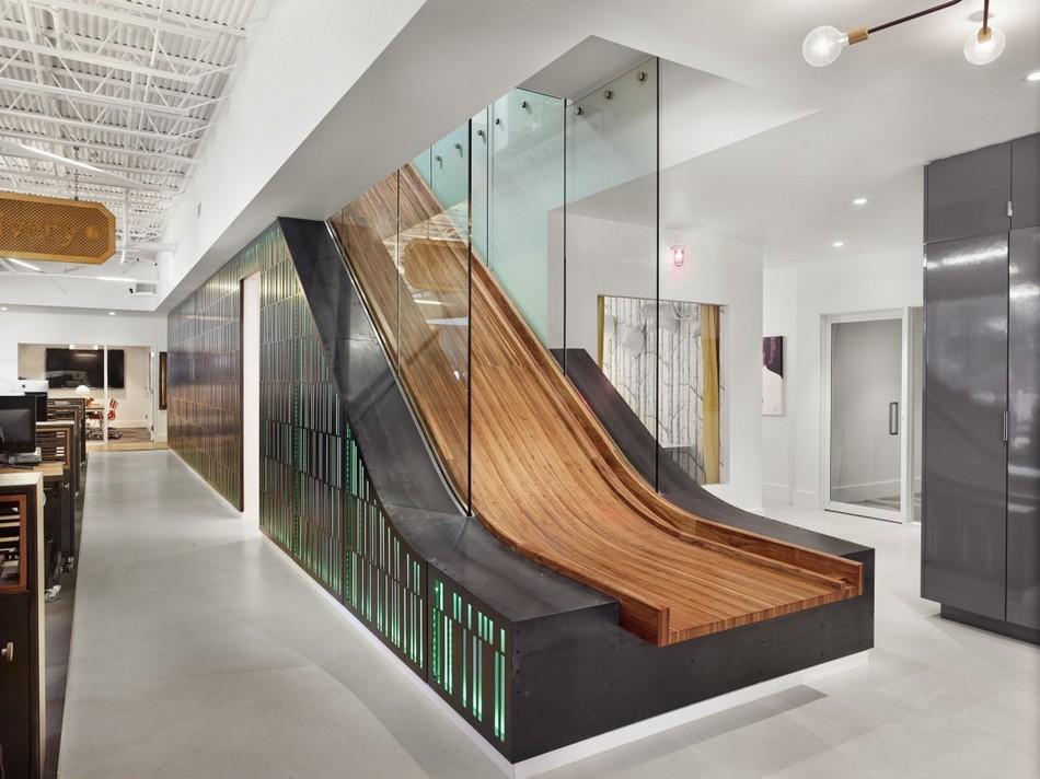 Thiết kế văn phòng ấn tượng của tòa nhfa Jovial Office Building tại Texas