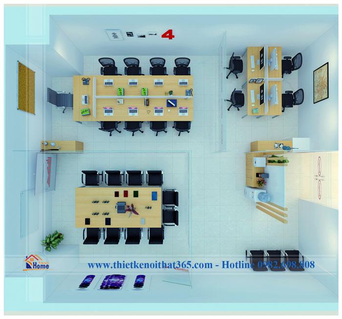 Thiết kế nội thất văn phòng công ty Betagen Việt Nam