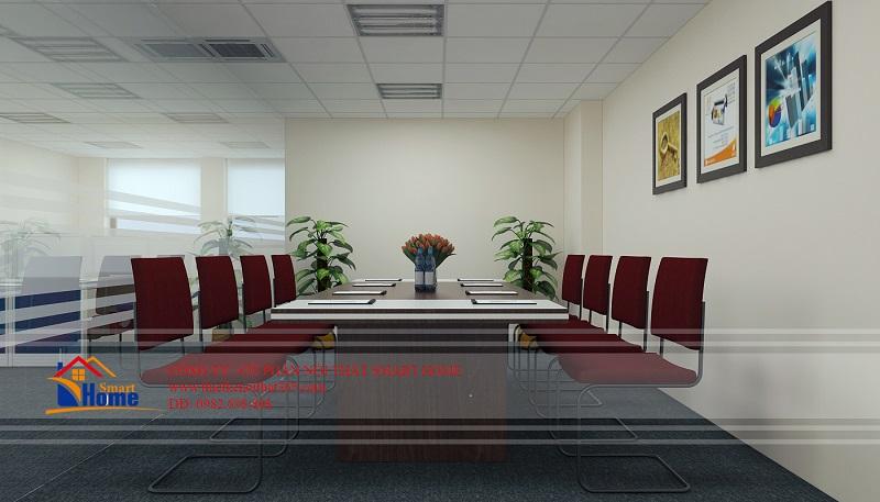 Thiết kế văn phòng Công ty vận tải đa phương thức 7 (Vietranstimex)