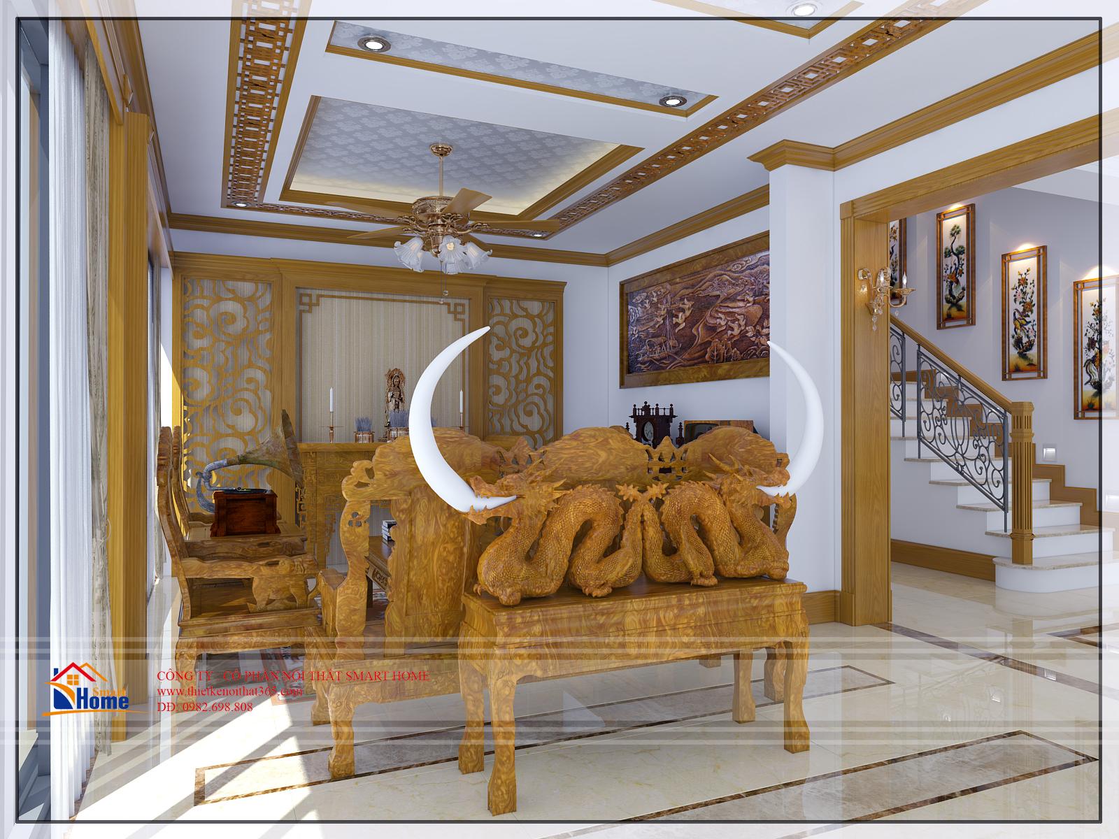 Thiết kế nội thất biệt thự tại Gamuda City
