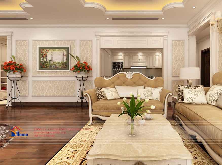 Thiết kế nội thất chung cư Royal City – Căn 302, tòa R1