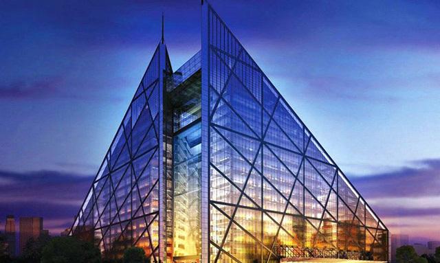 Thiết kế nội thất đẹp: Chiêm ngưỡng khách sạn kim tự tháp độc đáo