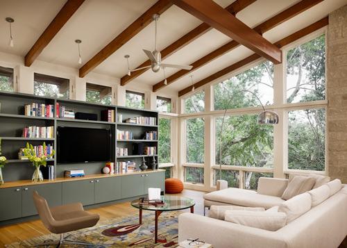 Thiết kế nội thất quyến rũ theo tỉ lệ vàng