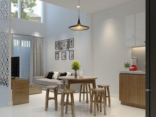 Tư vấn thiết kế nhà ở 2 tầng chỉ với 350 triệu đồng