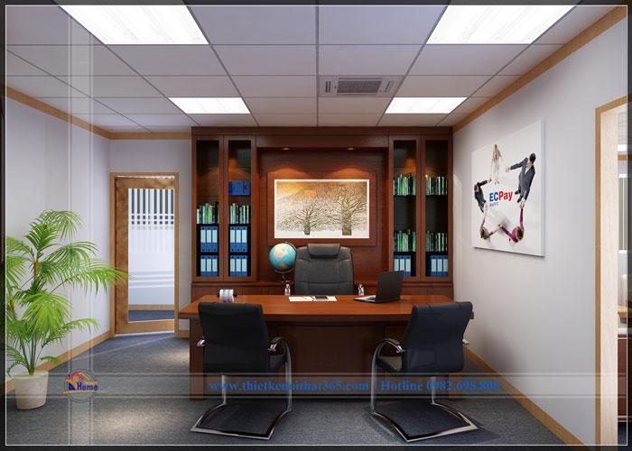 Mẫu thiết kế nội thất văn phòng công ty đẹp nhất 2017