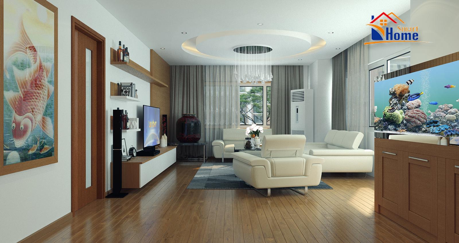 Thiết kế và thi công nội thất nhà anh Năng Hapulico