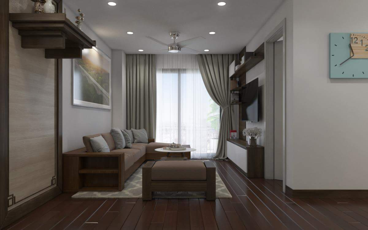 Thiết kế nội thất căn hộ Tòa nhà Đồng Phát