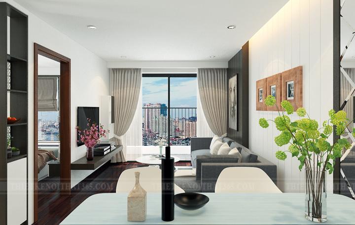 Thiết kế nội thất chung cư fivestar