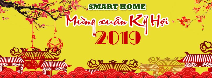 smart home chúc mừng năm mới