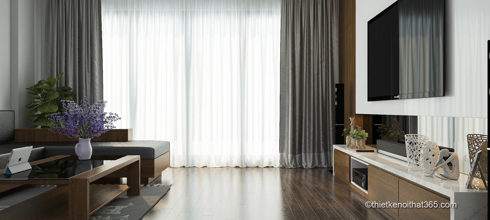 Mẫu thiết kế nội thất chung cư siêu đẹp và hiện đại