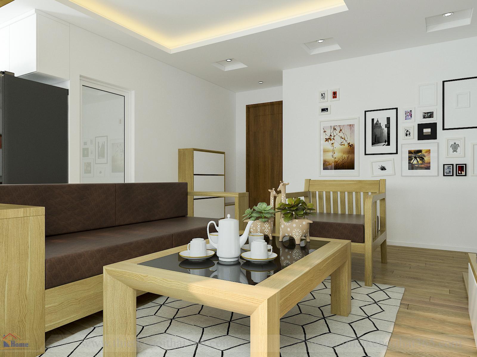 Thiết kế nội thất đẹp cho không gian diện tích nhỏ
